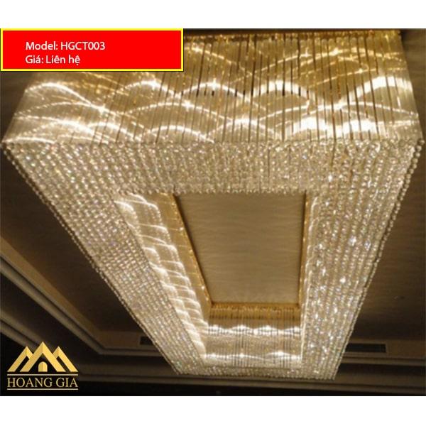 Đèn mâm pha lê LED HGCT003