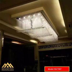 Đèn mâm pha lê LED HGCT007
