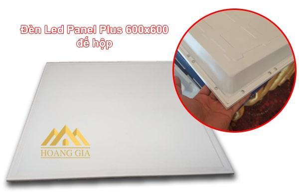 Đèn led Panel Plus thiết kế dạng đế hộp