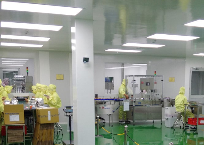 Nhà máy sản xuất lắp đèn led Panel 300x1200