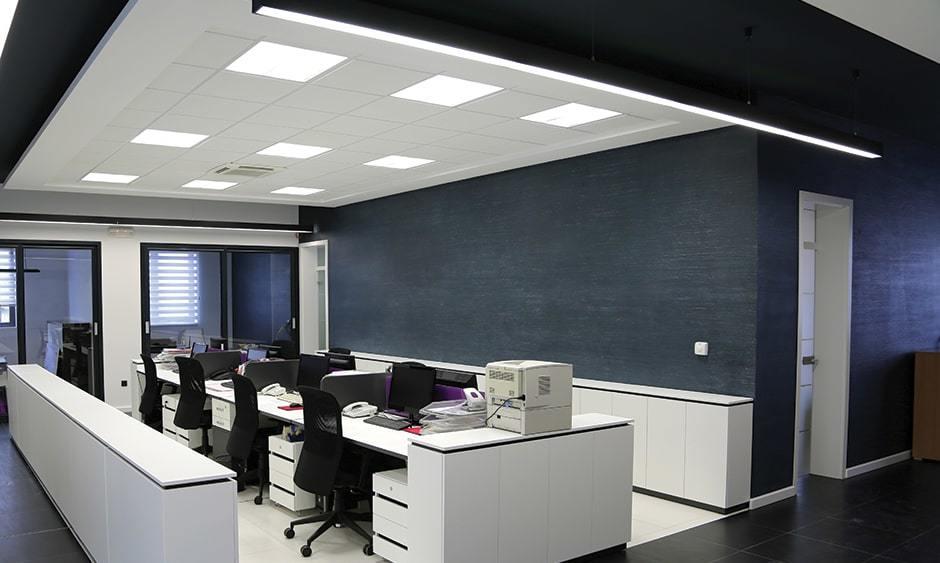 Ứng dụng điển hình của đèn led Panel 600x600 tại văn phòng làm việc