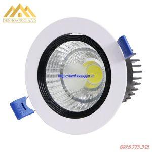 Giá đèn led âm trần COB đơn tròn