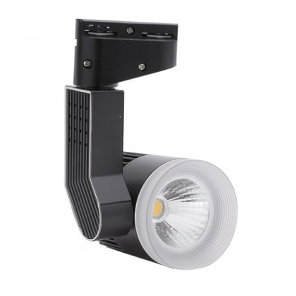 Giá đèn led rọi ray ram cấp vỏ den TLC