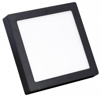 đèn led ốp trần vỏ đen hình vuông
