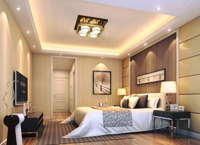 Mẫu đèn trần phòng ngủ đẹp số 1