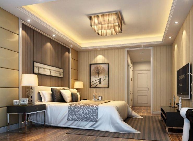 Mẫu đèn trần phòng ngủ đẹp số 10