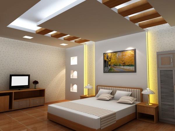 Mẫu đèn trần phòng ngủ đẹp số 7