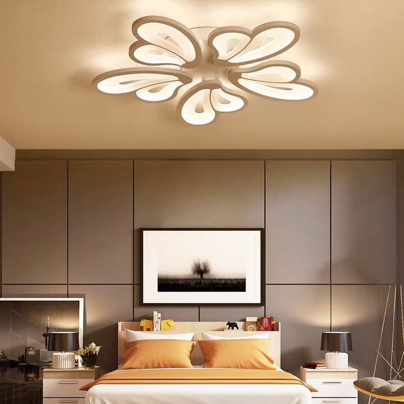Mẫu đèn trần phòng ngủ đẹp số 8
