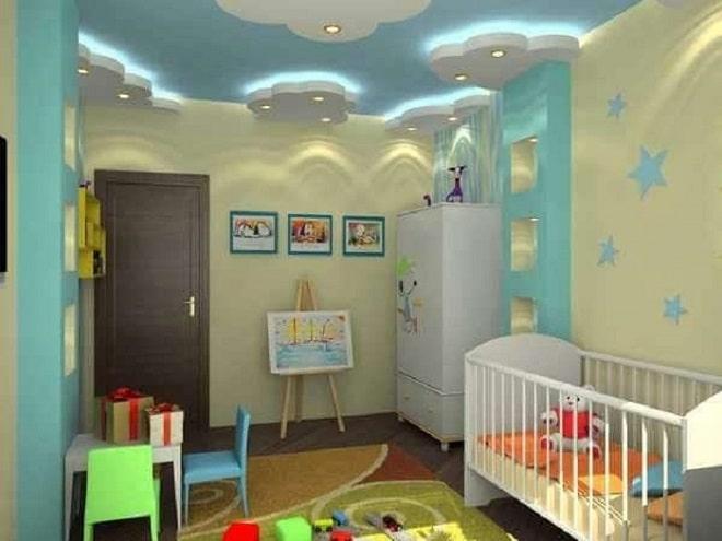 Mẫu đèn trần phòng ngủ trẻ em số 2