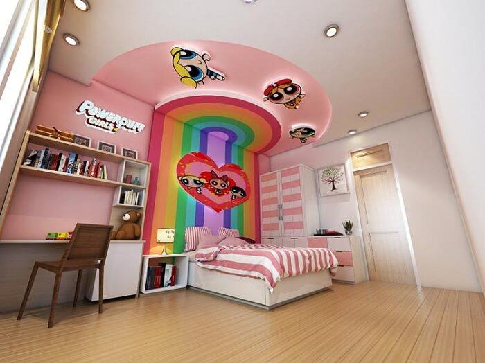 Mẫu đèn trần phòng ngủ trẻ em số 3