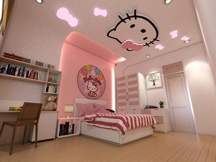 Mẫu đèn trần phòng ngủ trẻ em số 4