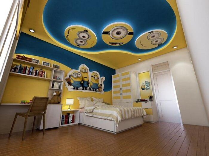 Mẫu đèn trần phòng ngủ trẻ em số 5
