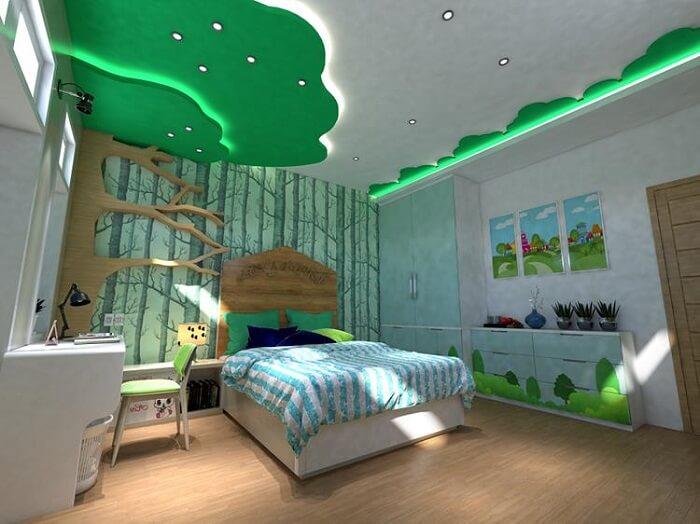 Mẫu đèn trần phòng ngủ trẻ em số 6