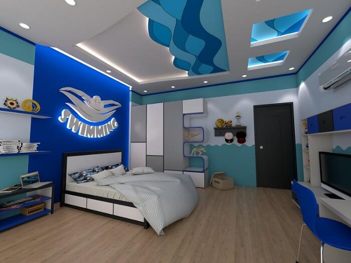 Mẫu đèn trần phòng ngủ trẻ em số 7