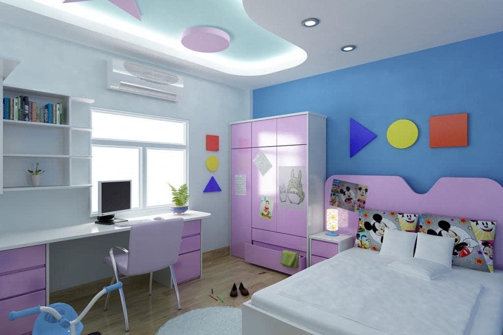 Mẫu đèn trần phòng ngủ trẻ em số 8