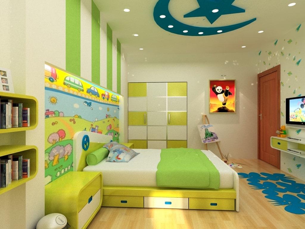Mẫu đèn trần phòng ngủ trẻ em số 9