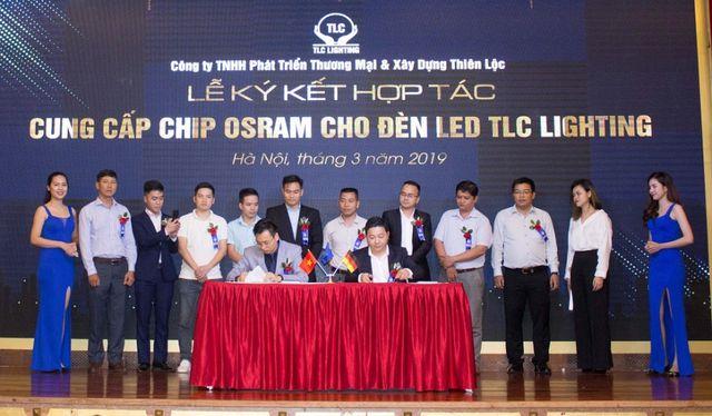 TLC Việt Nam OSRAM CH LB Đức ký kết hợp đồng chiến lược cung cấp CHIP LED và nguồn cho hãng TLC
