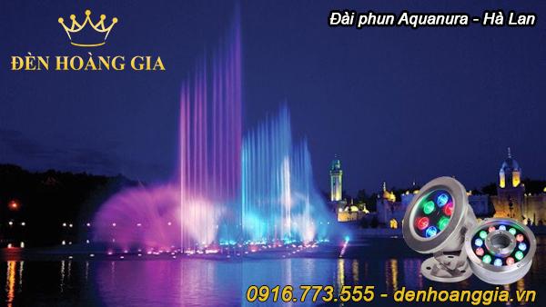 Đài phun nước Aquanura - Hà Lan