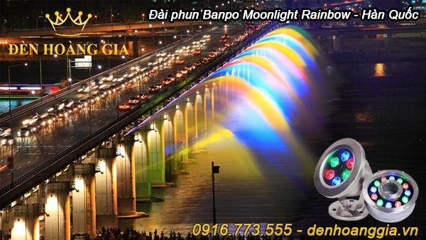 Đài phun nước Banpo Moonlight Rainbow - Hàn Quốc
