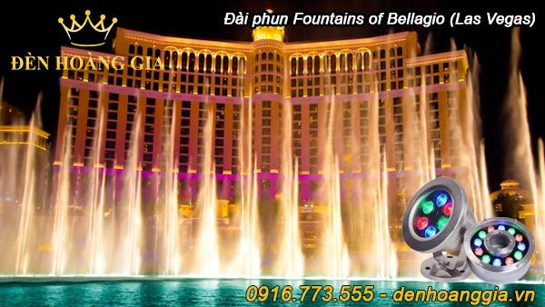 Đài phun nước Fountains of Bellagio (Las Vegas)