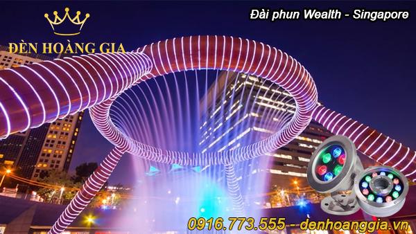 Đài phun nước Wealth - Singapore