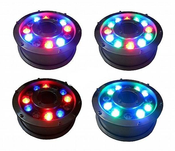 Các mẫu ánh sáng đèn âm nước