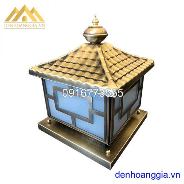 Đèn trụ cổng bằng đồng Rolux-TCD03