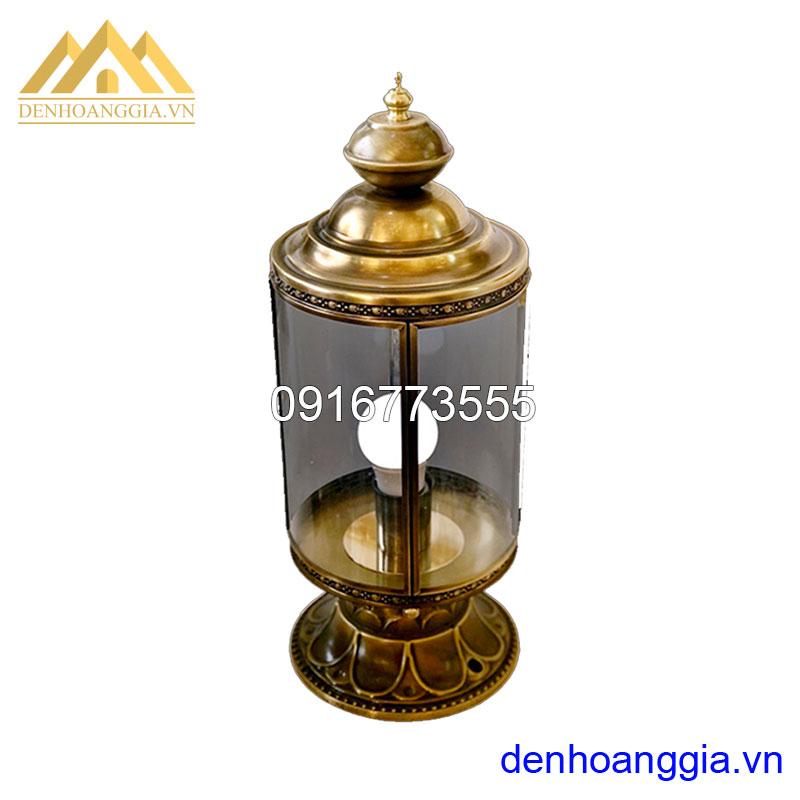 Đèn trụ cổng bằng đồng Rolux-TCD11