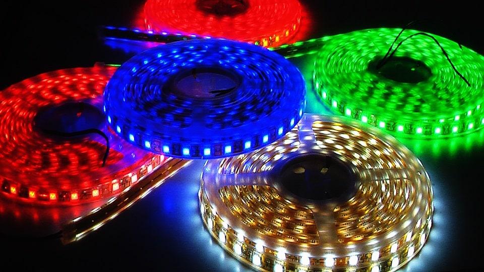Đèn led dây các màu