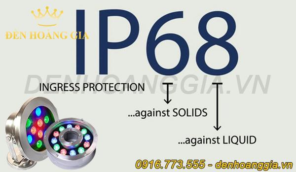Tiêu chuẩn chống nước IP68 của đèn âm nước