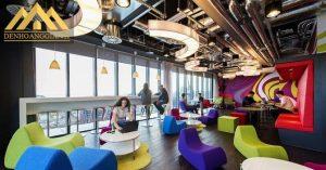 Văn phòng làm việc đầy màu sắc của Google tại Dublin, Mỹ