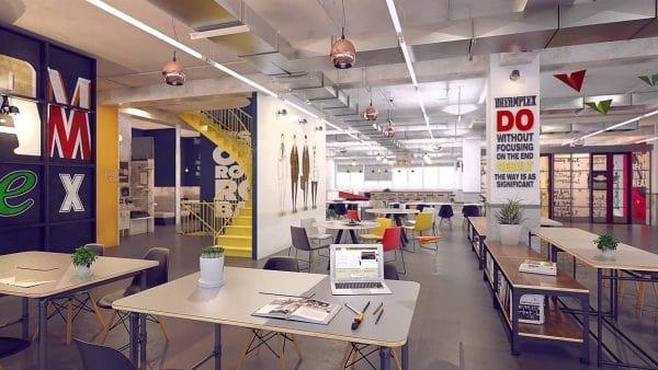Xu hướng thiết kế văn phòng mở