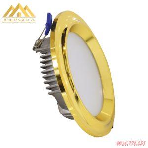 Đèn led âm trần mặt cong Nano Gold TLC