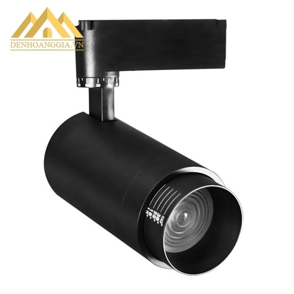 Thiết kế đèn led rọi ray ZOOM 10w vỏ đen có thể điều chỉnh được độ rọi theo ý muốn với nhiều góc chiếu khác nhau