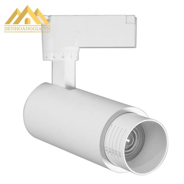 Đèn led rọi ray ZOOM 20w vỏ trắng có tính thẩm mỹ cao nên ngoài chức năng chiếu sáng thì đèn còn dùng để trang trí cho không gian