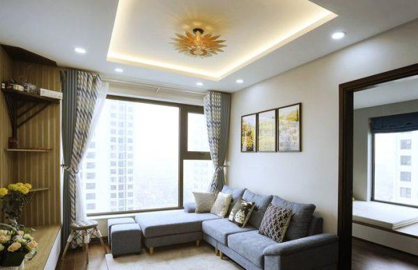 Phòng khách chung cư anh Thanh - Bắc Từ Liêm