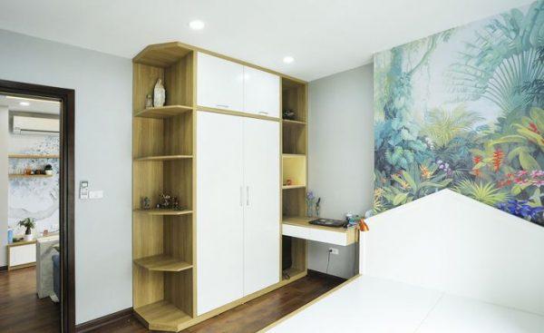 Phòng ngủ thứ 2 với thiết kế độc đáo