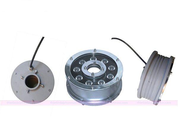 Đèn led chiếu sáng dưới nước dạng bánh xe có độ bền và khả năng chống thấm tốt