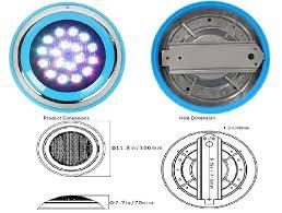 Thiết kế đèn âm nước cho bể bơi có độ chống thấm cao kéo dài tuổi thọ cho đèn