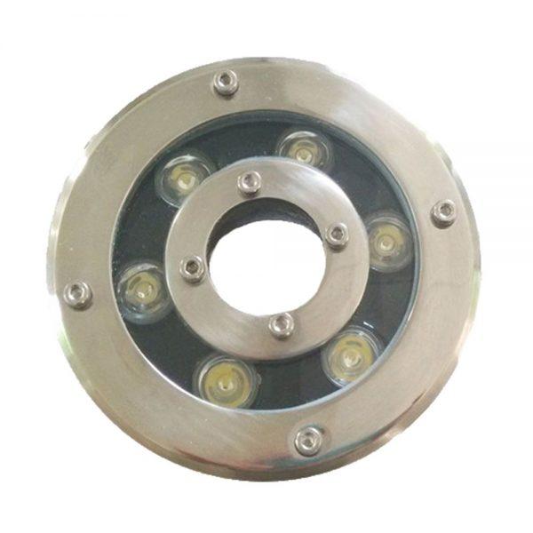 Đèn led âm nước bánh xe 6w có thiết kế đặc biệt chống nước hoàn toàn và không bị ăn mòn nâng cao giá trị thẩm mỹ