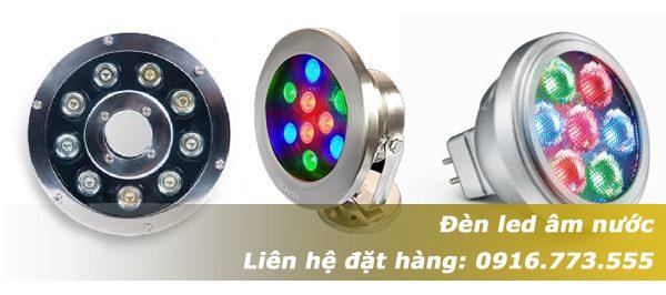 đèn led âm nước giá rẻ