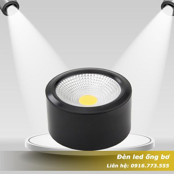 Đèn led ống bơ chip COB
