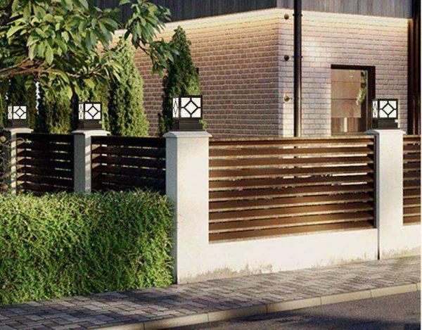 Đèn cổng hàng rào giúp ngôi nhà bạn thêm hoàn hảo và ấn tượng hơn