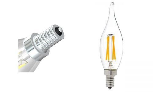 đèn led tròn đui E12