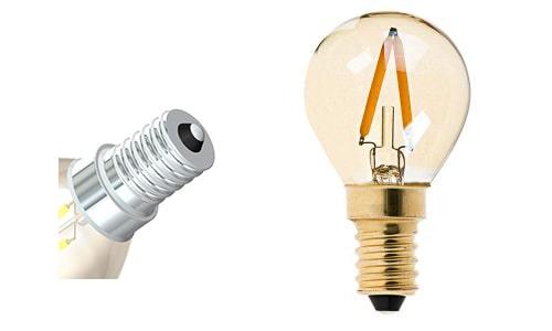 đèn led bulb đui E14