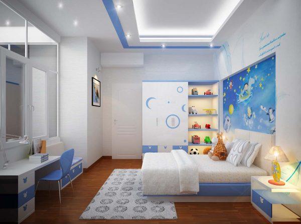 Phòng phủ nên chọn đèn led âm trần có công suất nhỏ