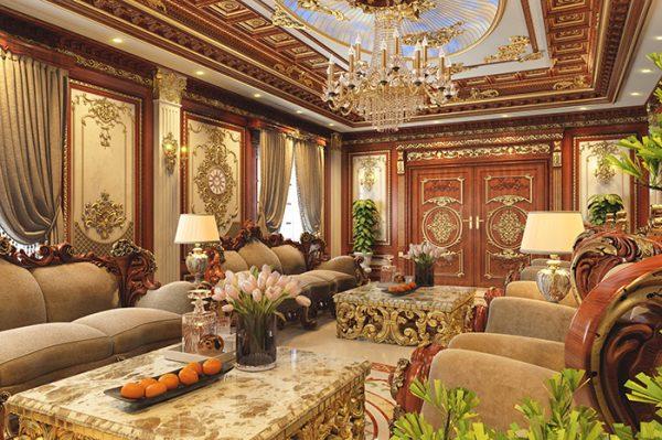 Mẫu phòng khách cổ điển số 1