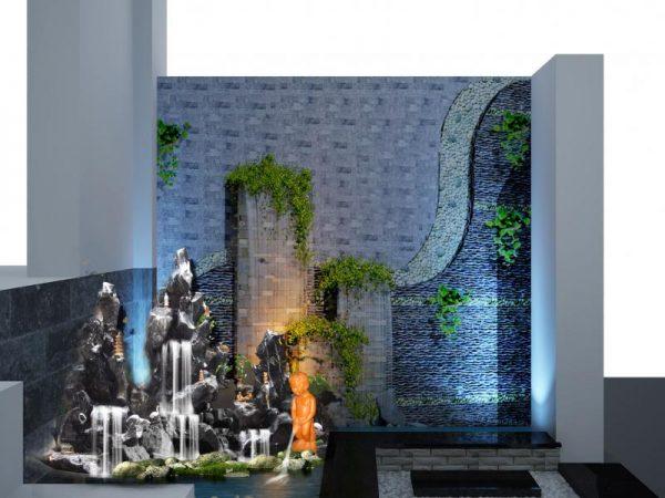 Đèn led dưới nước 3w ứng dụng vào những không gian lớn như thác nước, đài phun nước,...