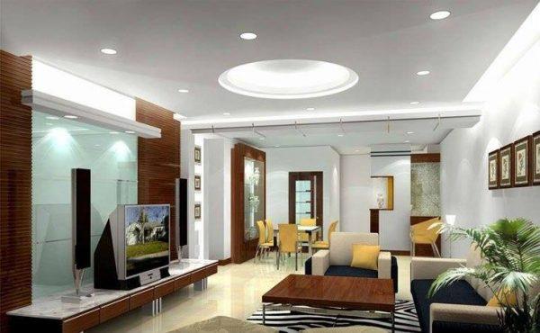 Đèn led âm trần mặt cong Nano Platinum 9w 3 màu tạo điểm nhấn tính tế cho không gian nội thất
