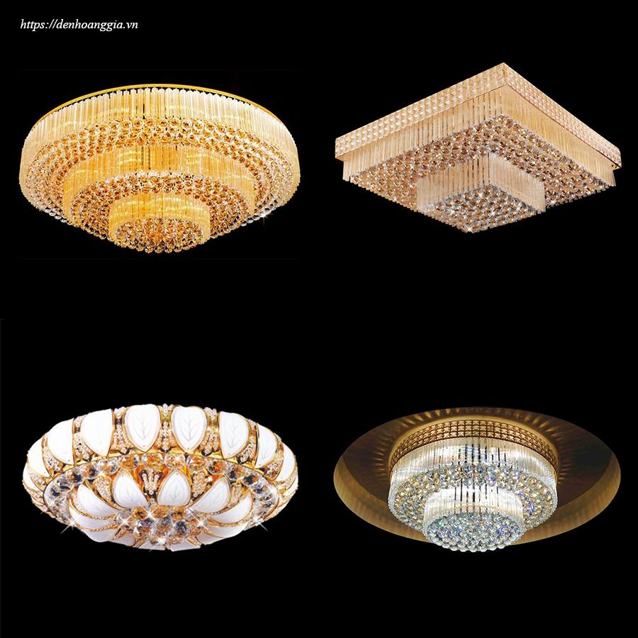 Đèn mâm pha lê LED cao cấp